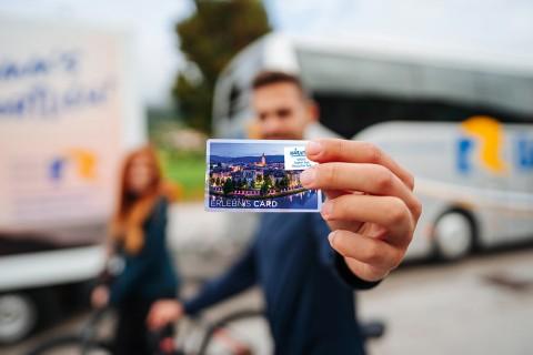 Nutzen Sie die Erlebnis CARD der Region - es lohnt sich!